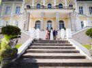 Zámek Šilheřovice - svatební obřad v exteriéru