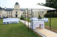 Wedding ceremony at the castle