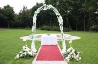 Uroczystość ślubna w pałacu