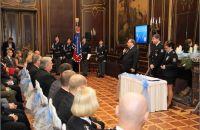 Oceňování policistů a zaměstnanců Krajského ředitelství policie Moravskoslezského kraje