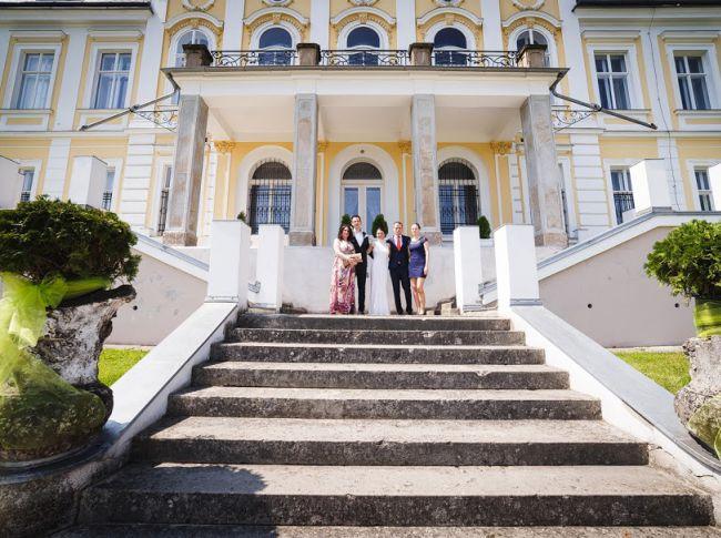 Zámek Šilheřovice - svatební obřad
