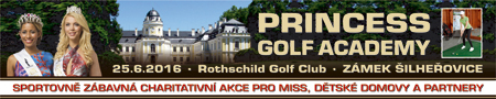 baner Princess Golf Academy  450x90